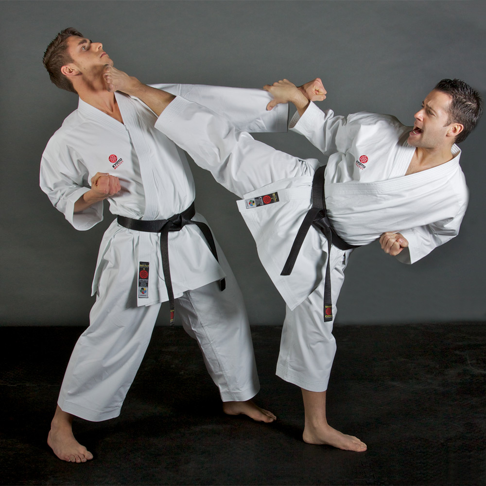 Kyoto-WKF-Approved-Kata-Karate-Suit-Action-1
