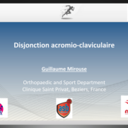 Disjonction acromio-claviculaire